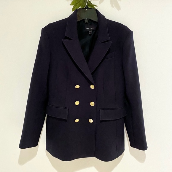 Judith & Charles Military Style 2 by 3 Blazer